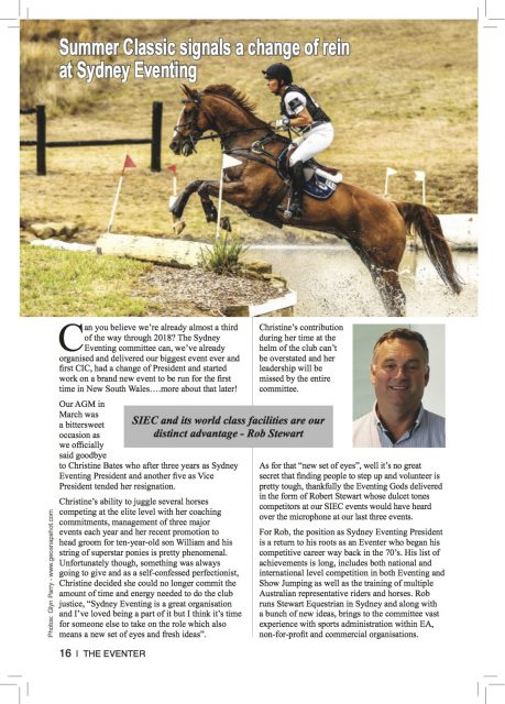 The Eventer Summer Classic '18 article
